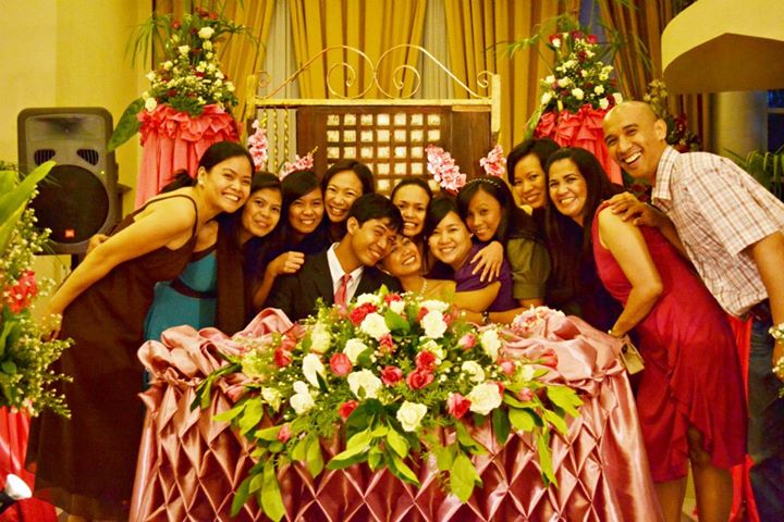 Wednesday Dgroup at May Ann's Wedding, 2012.