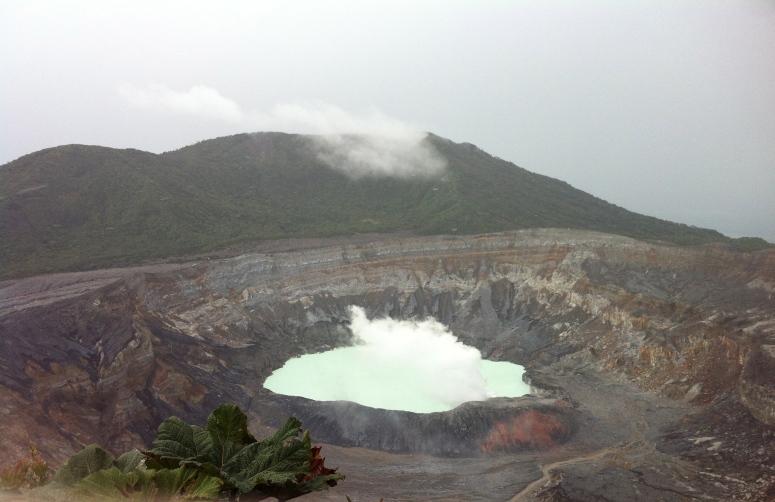 Poas Volcano.