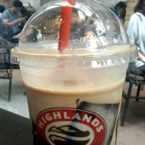 Enjoyed the coffee jelly drink, too.