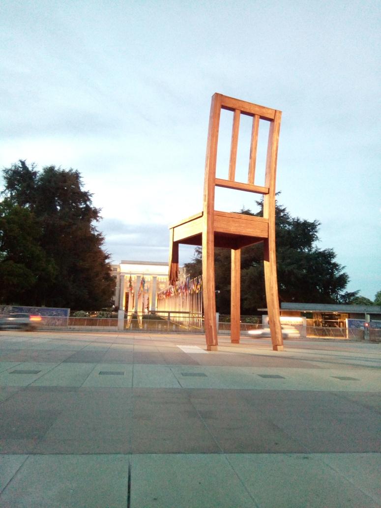 geneva broken chair